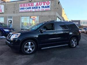 2012 Gmc Acadia SLT LEATHER 7 PASSENGER 1 OWNER