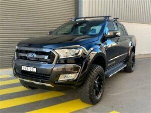2018 Ford Ranger PX MkII 2018.00MY Wildtrak Black Sports Automatic Utility Auburn Auburn Area Preview