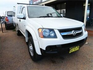 2009 Holden Colorado RC MY09 LX Space Cab 4x2 White 4 Speed Automatic Utility Mount Druitt Blacktown Area Preview