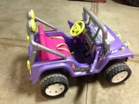 Childs Battery Operated Jeep