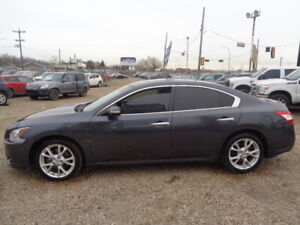 2012 NISSAN MAXIMA-HEATER-LEATHER-SUNROOF-3.5L 6CYL-AMAZING