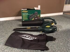 New Yard works electric blower/vac
