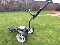 Fraser Foldaway electric golf trolley - £100
