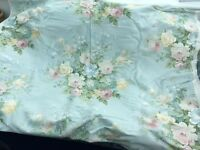 Laura Ashley Curtain Fabric Charlbury Duck Egg Brand new 9 metres