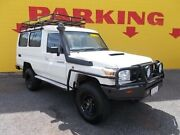 2013 Toyota Landcruiser VDJ78R MY13 Workmate Troopcarrier White 5 Speed Manual Wagon Winnellie Darwin City Preview