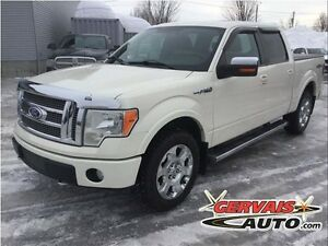 Ford F-150 Lariat 4x4 Cuir Toit Ouvrant Crew Cab MAGS 2009