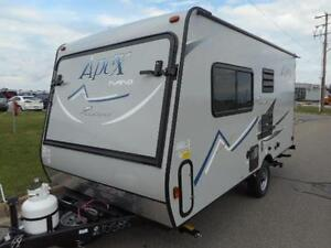NEW 2017 APEX 15X - HYBRID TRAILER PERFECT FOR SUV ONLY 2980 LBS