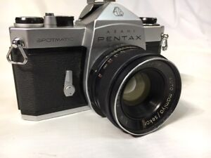 Pentax Spotmatic 35mm Film SLR Camera