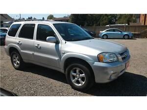 2006 Mazda Tribute GS-1 year warranty-LOW KMS-A/C-CRUISE-CERT.