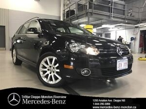 2014 Volkswagen Golf Wagon Wolfsburg Edition 6sp 2.5 at w/ Tip
