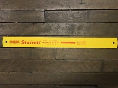 Starrett Rs1806-8 Solid High Speed Power Hacksaw Blade In Stock