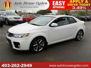 2012 KIA FORTE KOUP LEATHER ROOF EVERYONE APPROVED