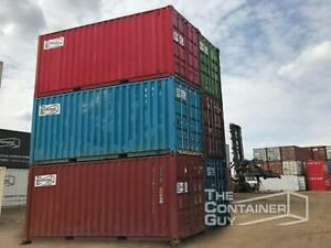 20 Used Shipping Containers - The Container Guy