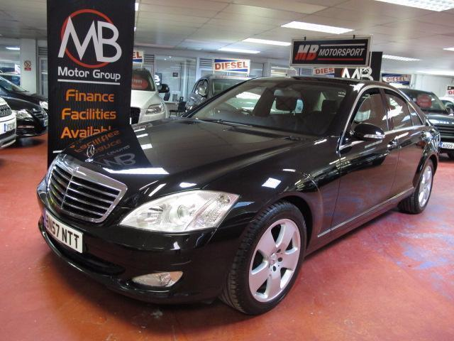 2007 mercedes benz s class s320 cdi auto nat nav full leather