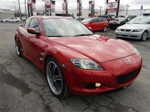 2005 Mazda RX-8 GT, CUIR, TOIT, COUPE, MAGS, A/C, 1.3L