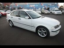 2000 BMW E46 E46 White 4 Speed Kingsville Maribyrnong Area Preview