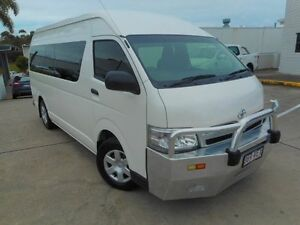 2011 Toyota Hiace KDH223R MY11 Commuter High Roof Super LWB White 5 Speed Manual Bus Noosaville Noosa Area Preview