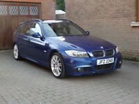 Newer shape 09 BMW 325i M Sport, One owner £6950