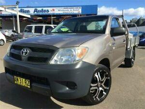 2006 Toyota Hilux TGN16R 06 Upgrade Workmate Gold 5 Speed Manual Cab Chassis Blacktown Blacktown Area Preview