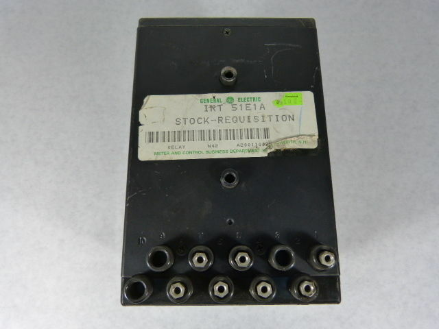 General Electric IRT-51EA Type IRT Temperature Relay **Enclosure Only**  USED
