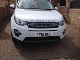 Land Rover Discovery Sport,Alpine white,Good condition,
