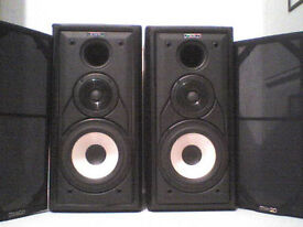 100W Mission Stereo Speakers