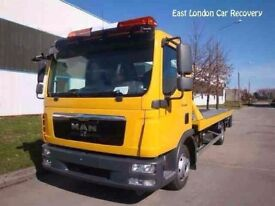 EAST LONDON CAR RECOVERY 24-7 VAN BREAKDOWN VEHICLE TRUCKS TOW TOWING ASSISTANT TRANSPORTER SERVICES