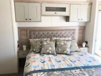 Brand new luxury static caravan with bath on the west coast of Scotland