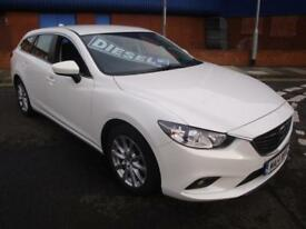 14 MAZDA 6 SKYACTIV-D 150 BHP SE NAV ESTATE DIESEL £20 A YEAR ROAD TAX