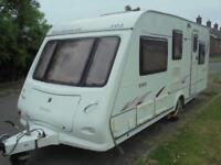 2006 Elddis Elusion 505 SE 5 Berth Caravan For Sale.