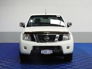 2013 Nissan Navara D40 MY12 ST-X 550 (4x4) White 7 Speed Automatic Dual Cab Utility Morley Bayswater Area Preview