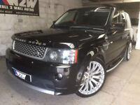 Range Rover Sport 3.6TDV8 AUTOBIOGRAPHY SPORT LE AUTO JAVA BLACK,63K F/S/H
