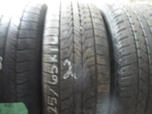 225/65R16 USED SINGLE ONLY MICHELIN A/S TIRE