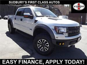 2012 Ford F-150 SVT Raptor!! CREW CAB!! VERY CLEAN!!
