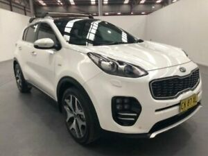 2016 Kia Sportage QL MY16 PLATINUM AWD White Steptronic Wagon