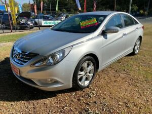 2012 Hyundai i45 YF MY11 Active Silver 6 Speed Sports Automatic Sedan Clontarf Redcliffe Area Preview