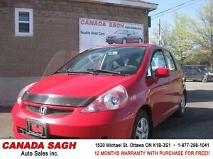 2008 Honda Fit with only 65km !!! 12M.WRTY+SAFETY $5990