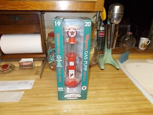 "NIB 12"" Gearbox Wayne Texaco Limited Edition Diecast Gas Pump Replica Service"