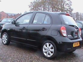 NISSAN MICRA 1.2 ACENTA AUTOMATIC 5 DR BLACK,1 YRS MOT,CLICK ON VIDEO LINK TO SEE MORE OF THIS CAR