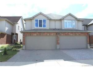 Double garage house for rent