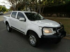 2015 Holden Colorado RG MY16 LS (4x4) White 6 Speed Automatic Crew Cab Pickup Chermside Brisbane North East Preview