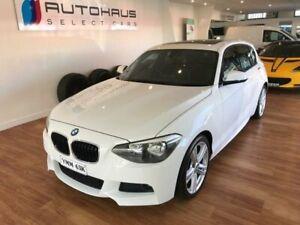 2013 BMW 1 F20 MY13 MY13 25i M SPORT Sport Line White 7 Speed Sports Auto Hatchback Batemans Bay Eurobodalla Area Preview