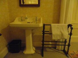Antique / Vintage Original Victorian Pedestal Wash Hand Basin