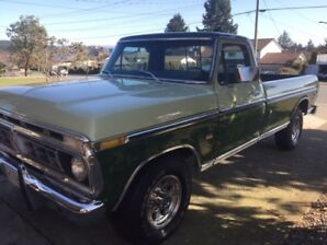 Reduced - 1976 Ford F350 Ranger XLT Super Camper Special