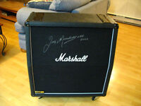 2006 Marshall 1960A 4x12 Cab signed by Jim Marshall