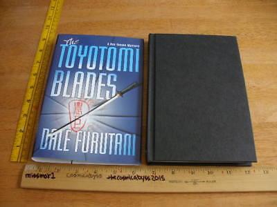 The Toyotomi Blades by Dale Furutani *SIGNED* 1st Ed/Pr HC/DJ 1997 Ken Tanaka