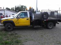 2000 GMC Sierra 3500 DUALLY 4X4 6.5 DIESEL AUTOMATIC ONLY $3,900