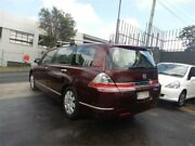 2008 Honda Odyssey 20 MY06 Upgrade Red 5 Speed Sequential Auto Wagon Burwood Whitehorse Area Preview