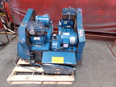 Quincy 2 Stage Air Compressor - Model M0c01006d