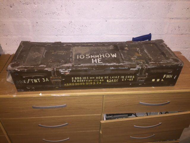 ex army amunition boxes asstd sizes